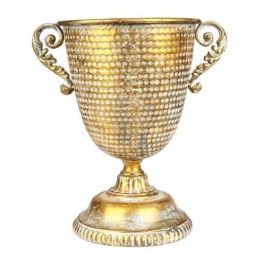 Vitale Marial Gold Metal Vazo Renkli